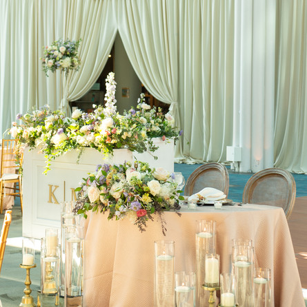 Kasey + Mark Blush wedding