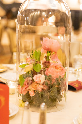 Cloche centerpiece