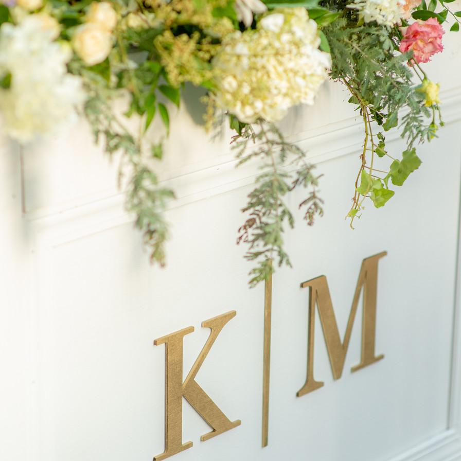 mark and Kasey- monogram- wedding