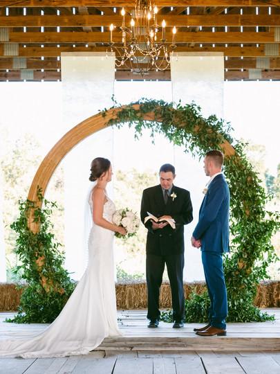 C+J- wedding Ceremony
