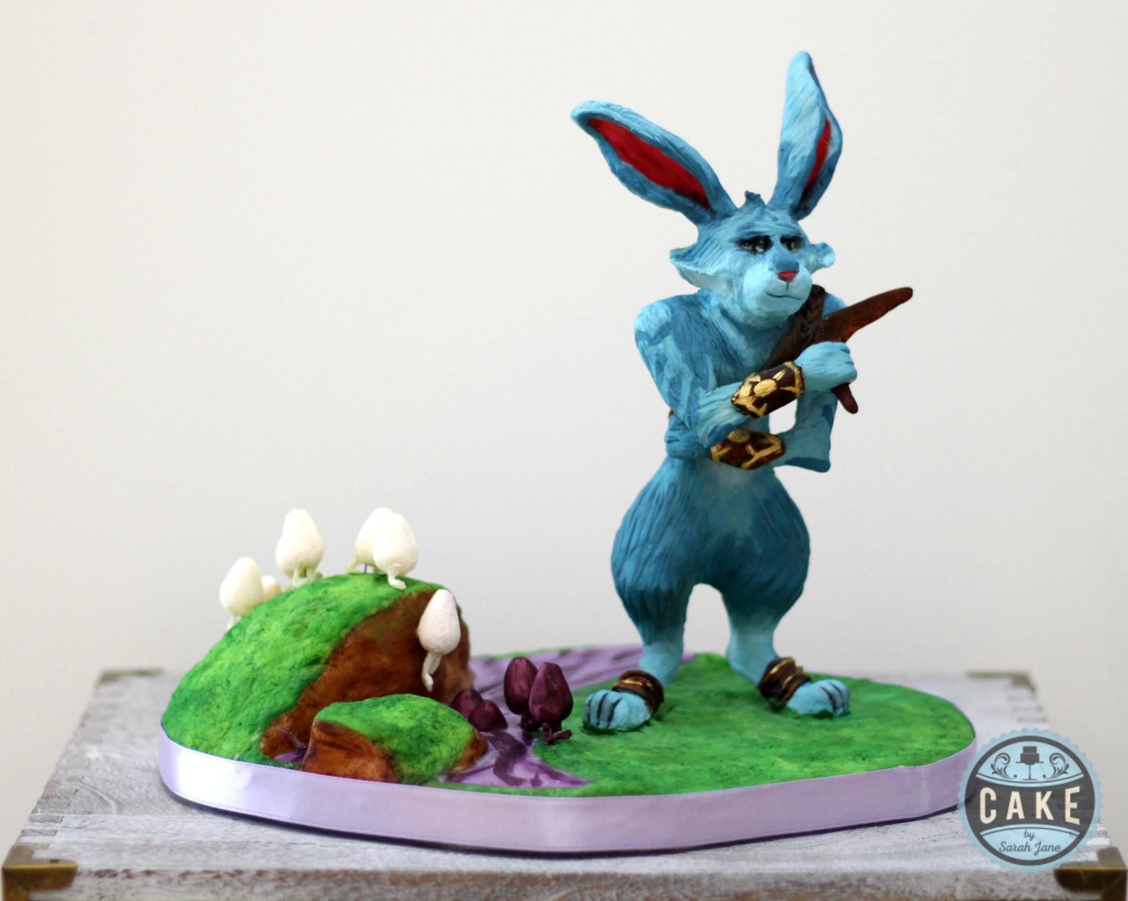 E. Asterbunnymund Easter Bunny Chocolate sculpture Custom