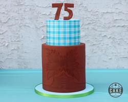 Cowboy Birthday Cake Custom