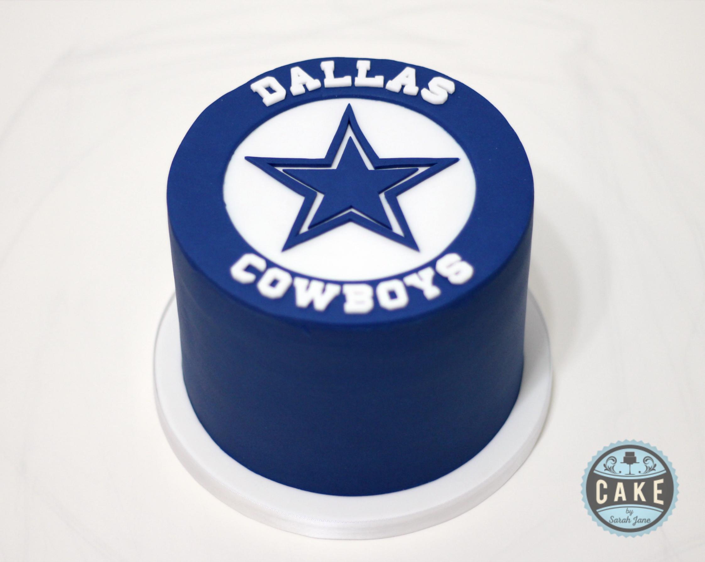 Dallas Cowboys Birthday Cake