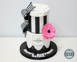 Chanel Birthday Cake