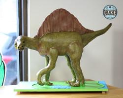 Spinosaurus Birthday Cake