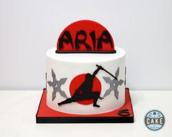 Ninja Birthday Cake