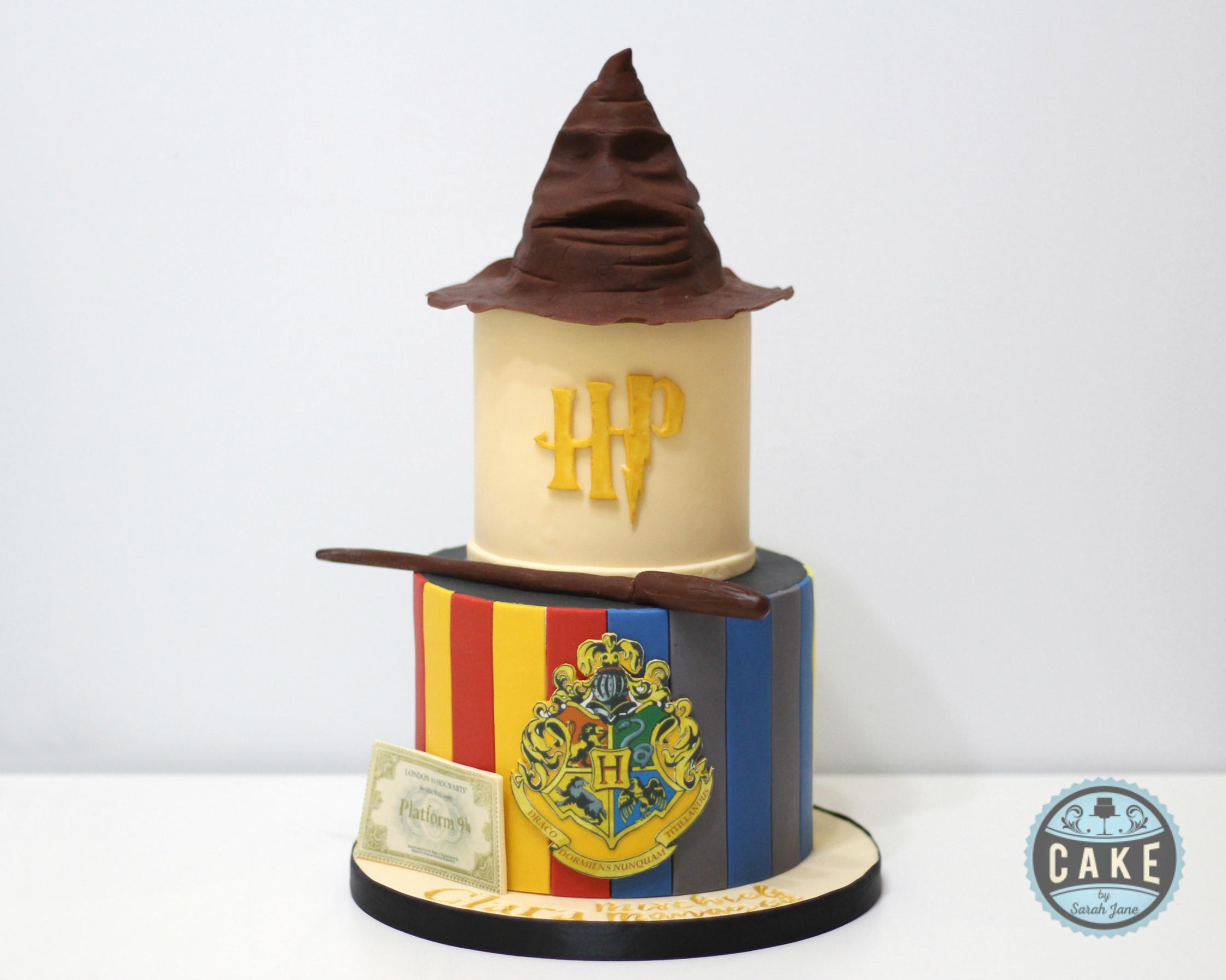 Hogwarts is our home Birthday Cake
