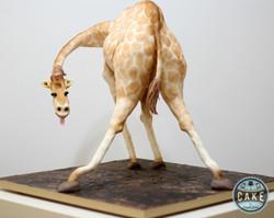 Fun Bendy Giraffe Cake