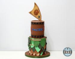Maui Birthday Cake