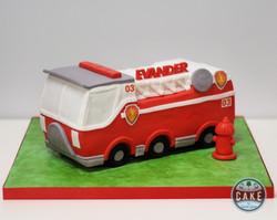 Firetruck Paw Patrol Custom Cake