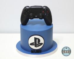 Playstation Controller Custom Birthday Cake