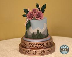 Wedding Cake Mountain Ombre