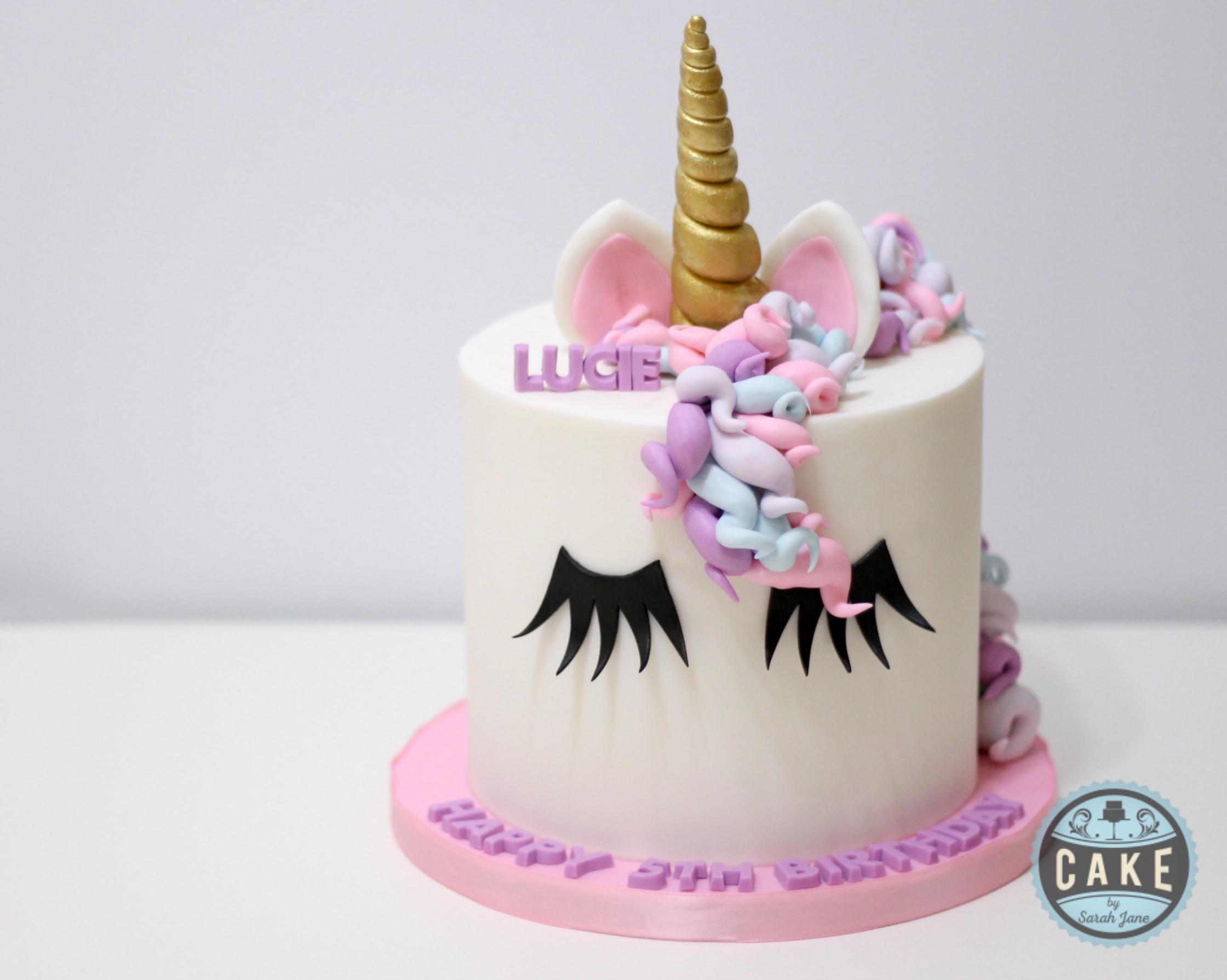 Pastel Color Unicorn Eyelashes