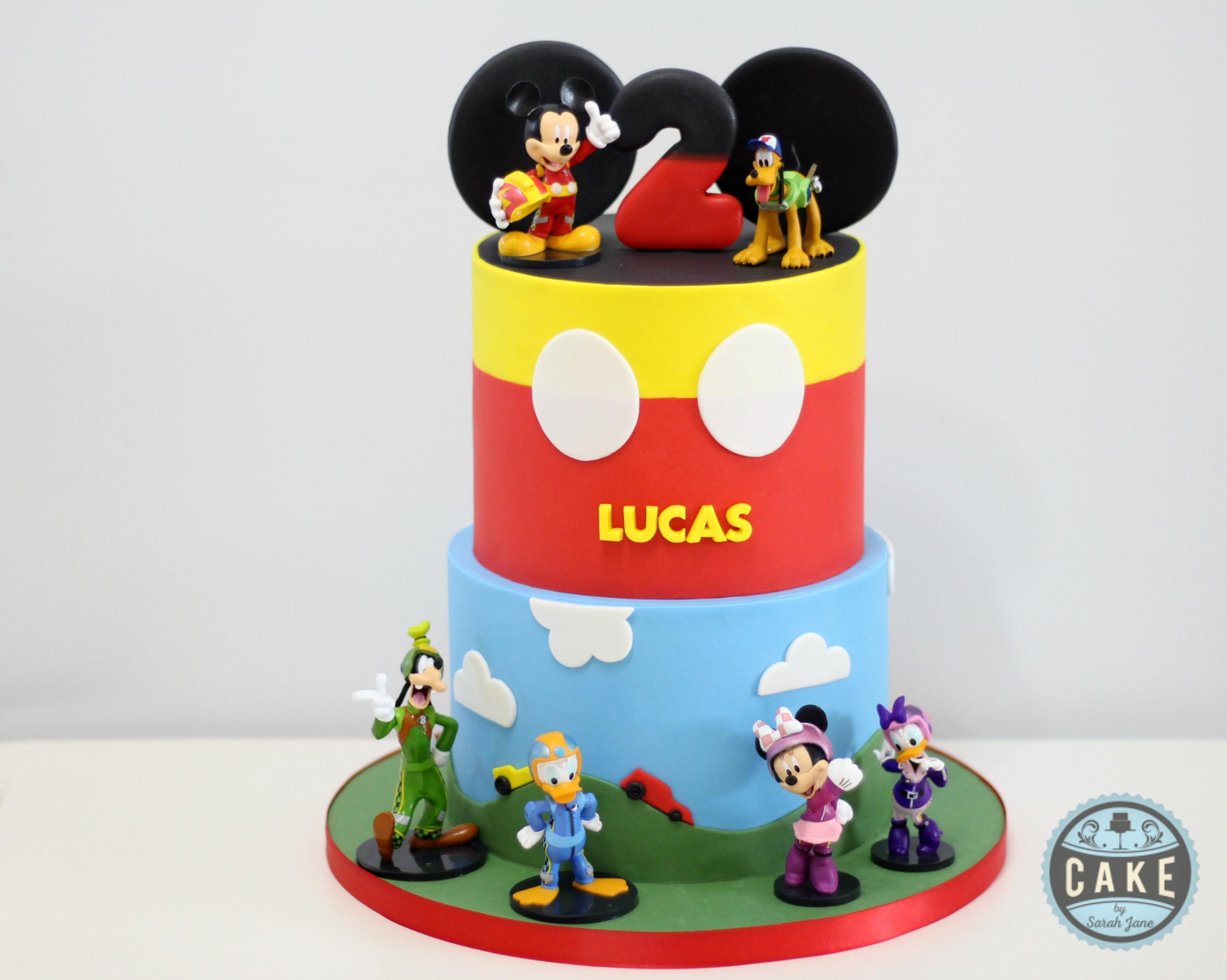 Racing Custom Cake