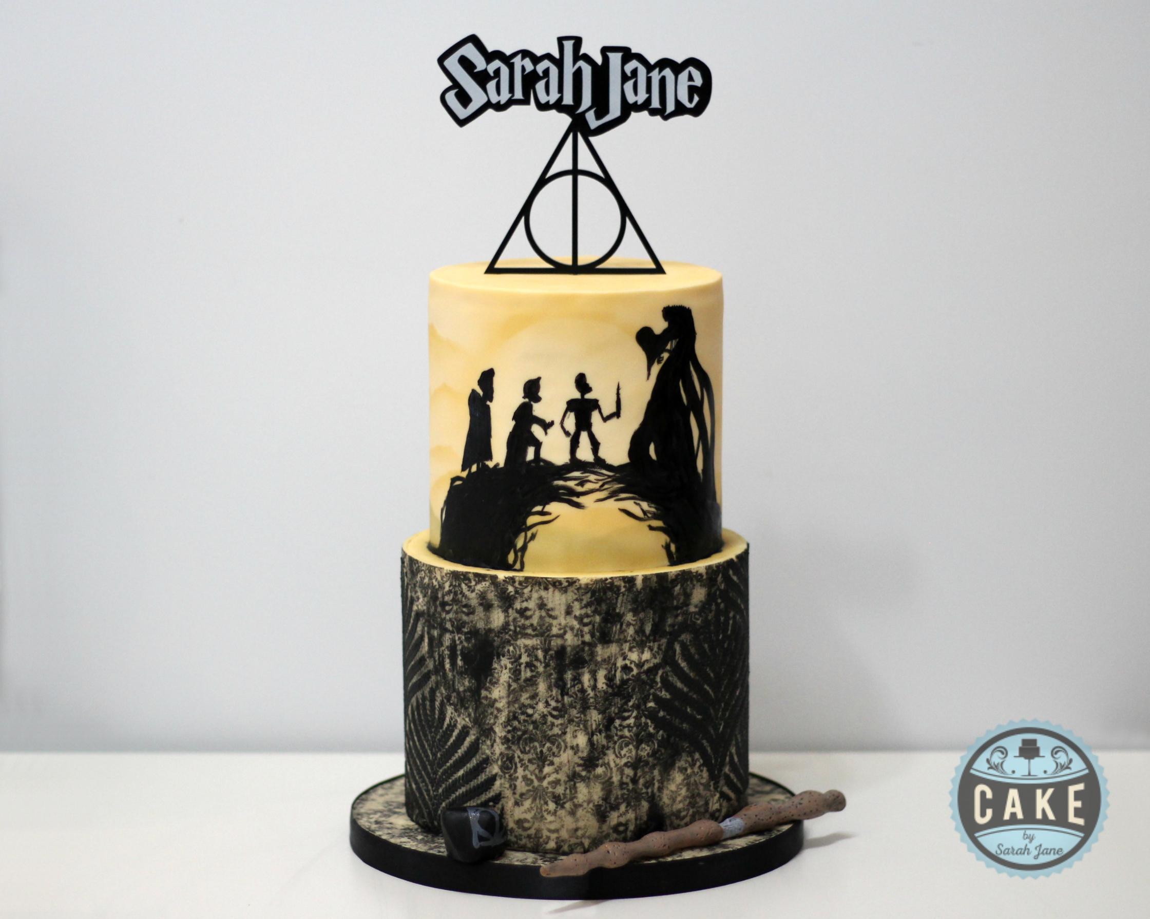 Deathly Hallows Birthday Cake