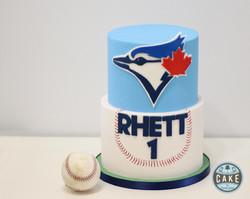 First Birthday Blue Jays Baseball