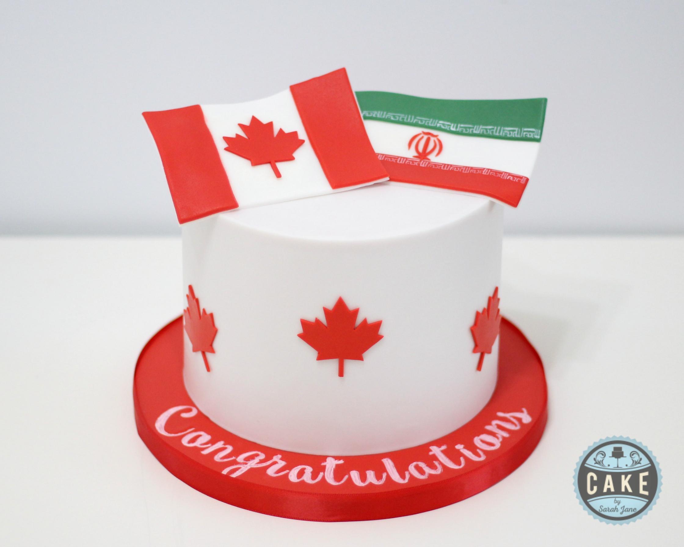Flag Canadian Citizenship