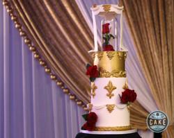 Beauty and the Beast Birthday Cake