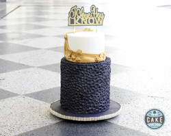 Star Wars May the 4th I love you I know Wedding Cake