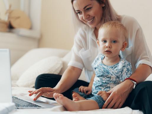 Cómo equilibrar el trabajo desde casa y el aprendizaje remoto de los niños