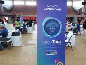 ¡823 Santa Isabel vacunados!