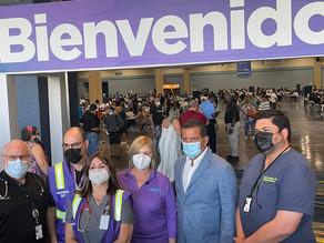 """Salud y VOCES alcanzan los 10,000 vacunados contra el COVID-19 en el """"Súper VacuTour"""""""