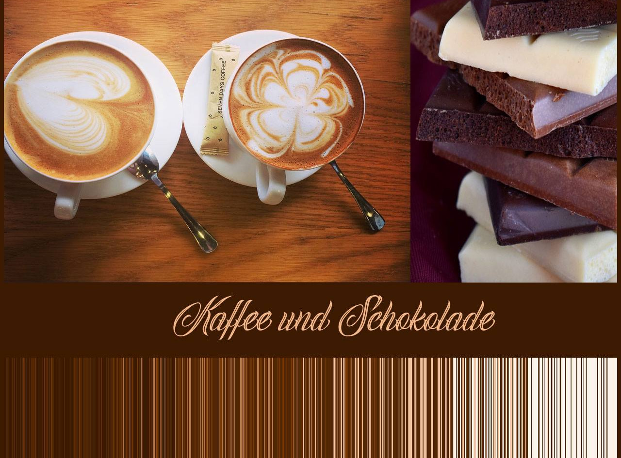 Kaffee und Schokolade Inspirationsbild