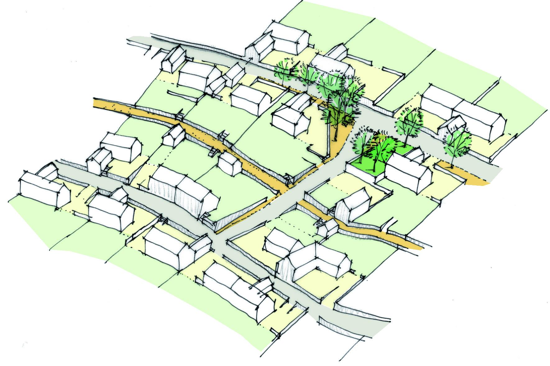 Création d'un nouveau quartier