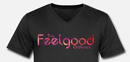 feelgood t-shirt t-skjort sort black