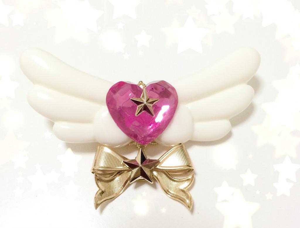 天使の羽 ジュエルブローチ