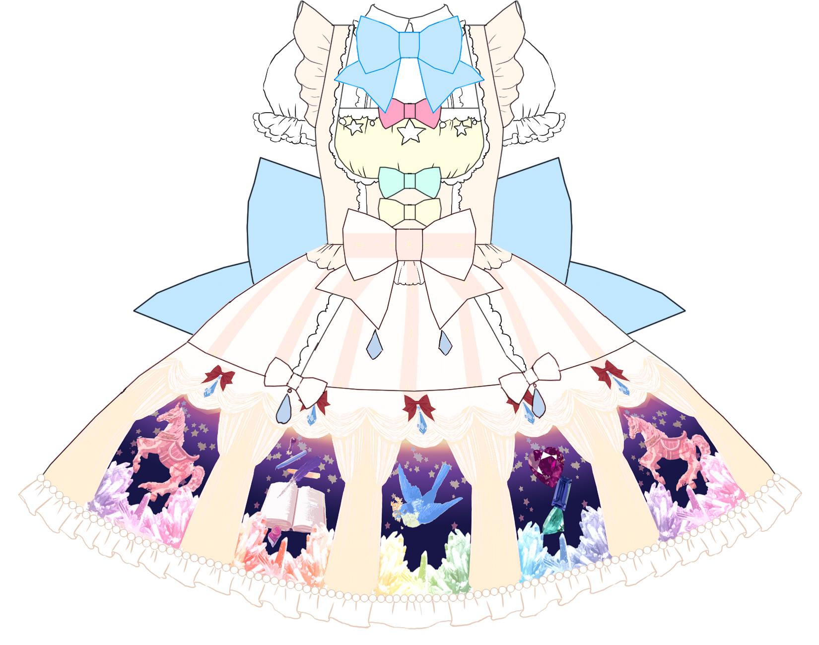 ロリィタアイドルmeltiaオリジナル衣装デザイン&製作