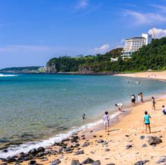 중문색달해변
