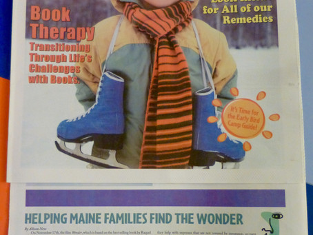 Facing Maine and Wonder featured in Parent & Family!