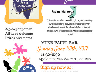 Paint Day Fundraiser for Facing Maine!
