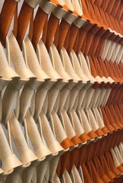 PLECTERE duotone acoustic textile detail