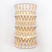 PLECTERE acoustic textile light tube squ