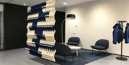 PLECTERE acoustic textile gemeente Leide
