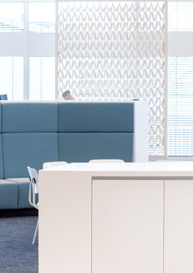 PLECTERE frame akoestisch textiel design