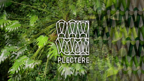 Plectere acoustic textiles green wall.mo