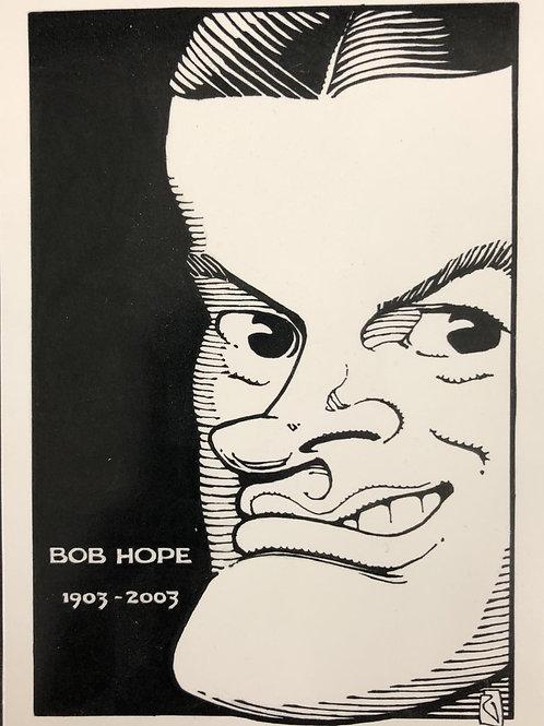 Bob Hope Postcard