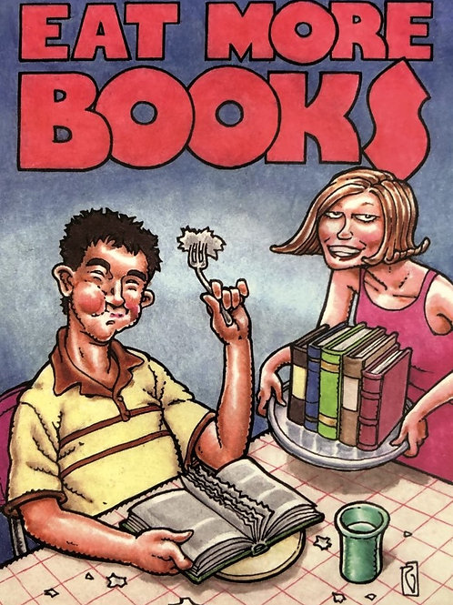 Eat More Books