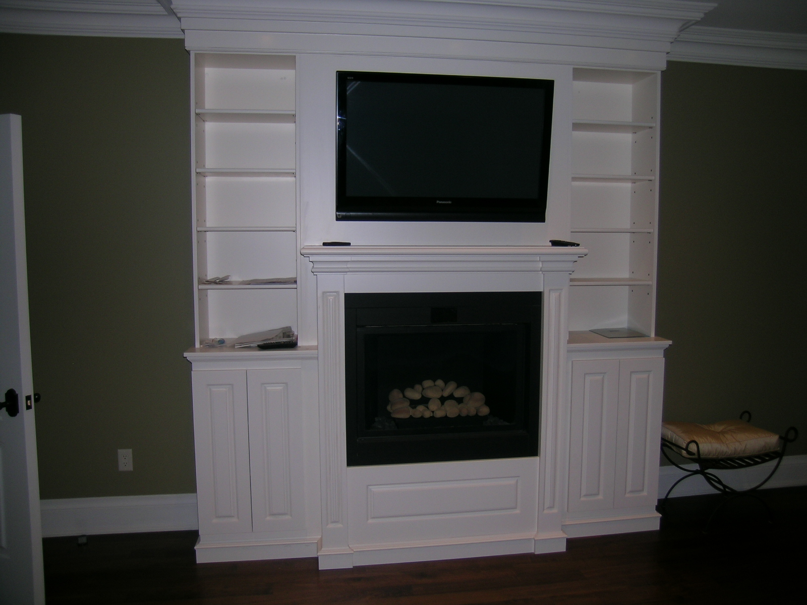 TV/Fireplace wall unit