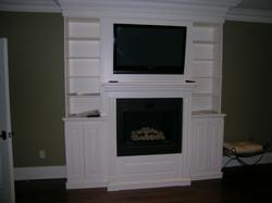 TV/Fireplace wall unit