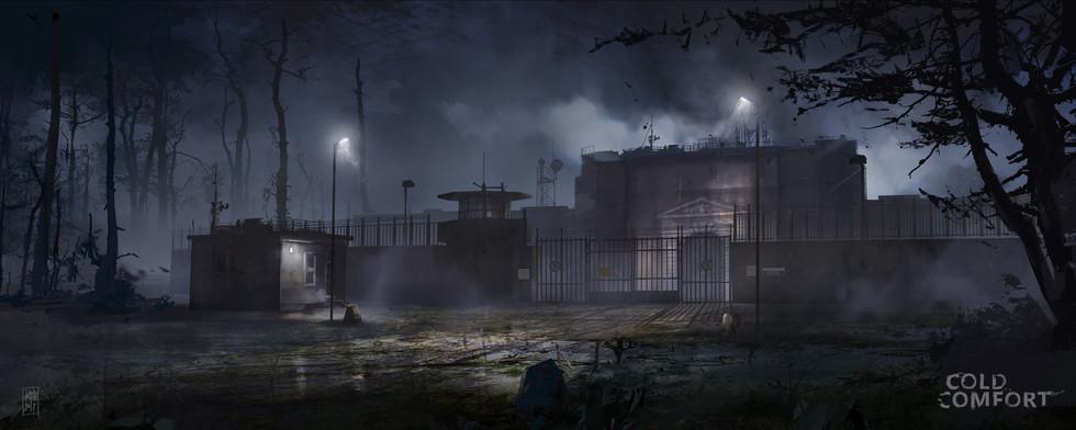 Cold confort game -prison-exterior-entra