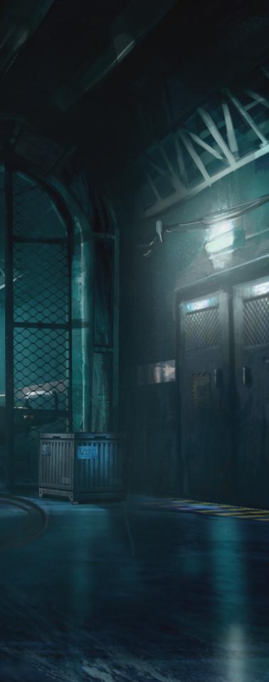 Cold confort game - Underground Corridor