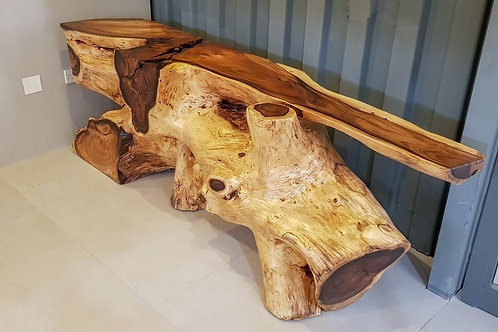 Raintree Root Console Table