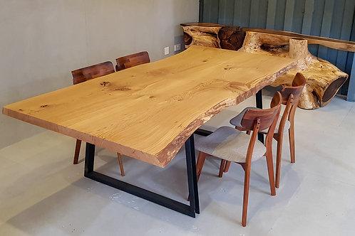 White Oak Live Edge Table