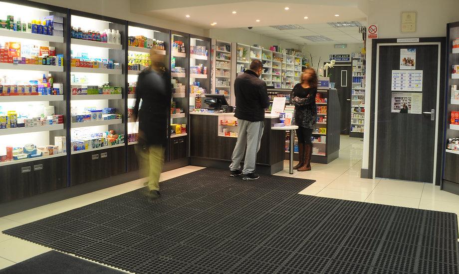 fairlop pharmacy shop interior