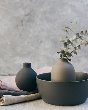 Plantes et poterie