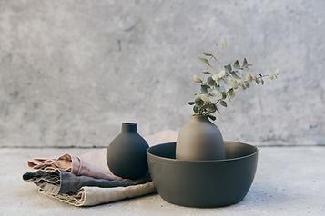 Pflanzen und Töpferwaren